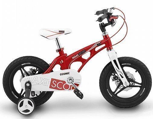 """Детский 2- колесный велосипед Maxiscoo Cosmic Делюкс, 18"""" (2020)"""