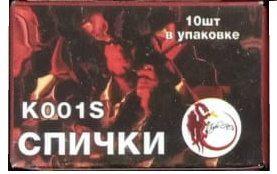 К001S петарда терочная (24/60/10) Спички
