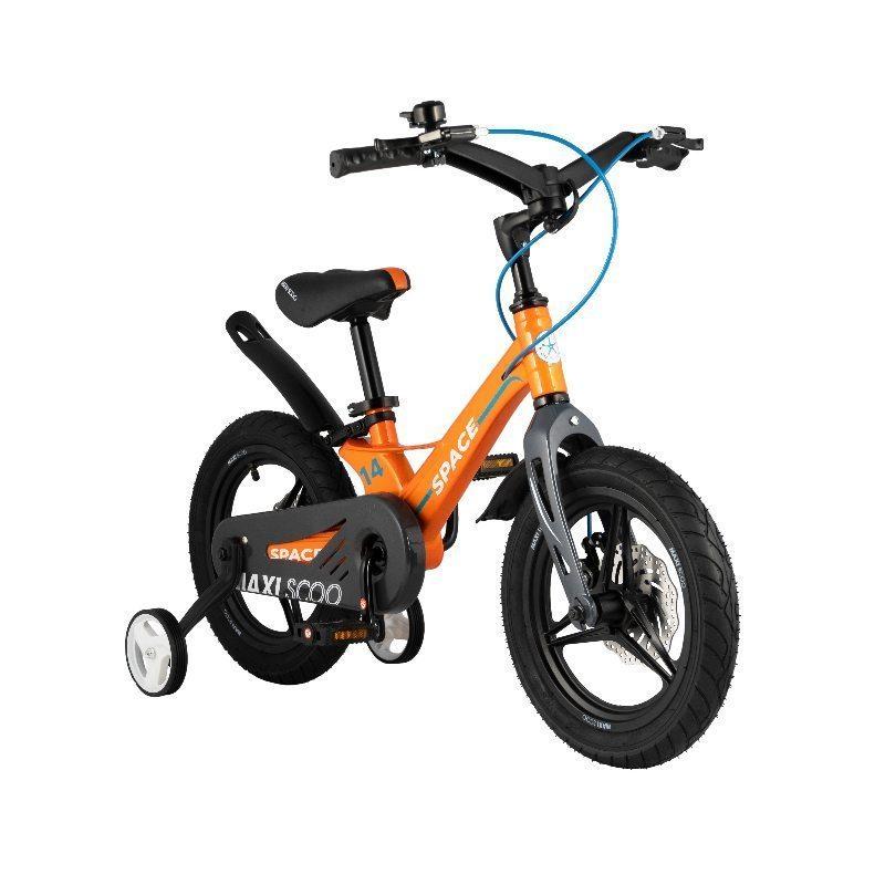 """Детский 2- колесный велосипед Maxiscoo Space Делюкс,14"""" (2021)"""
