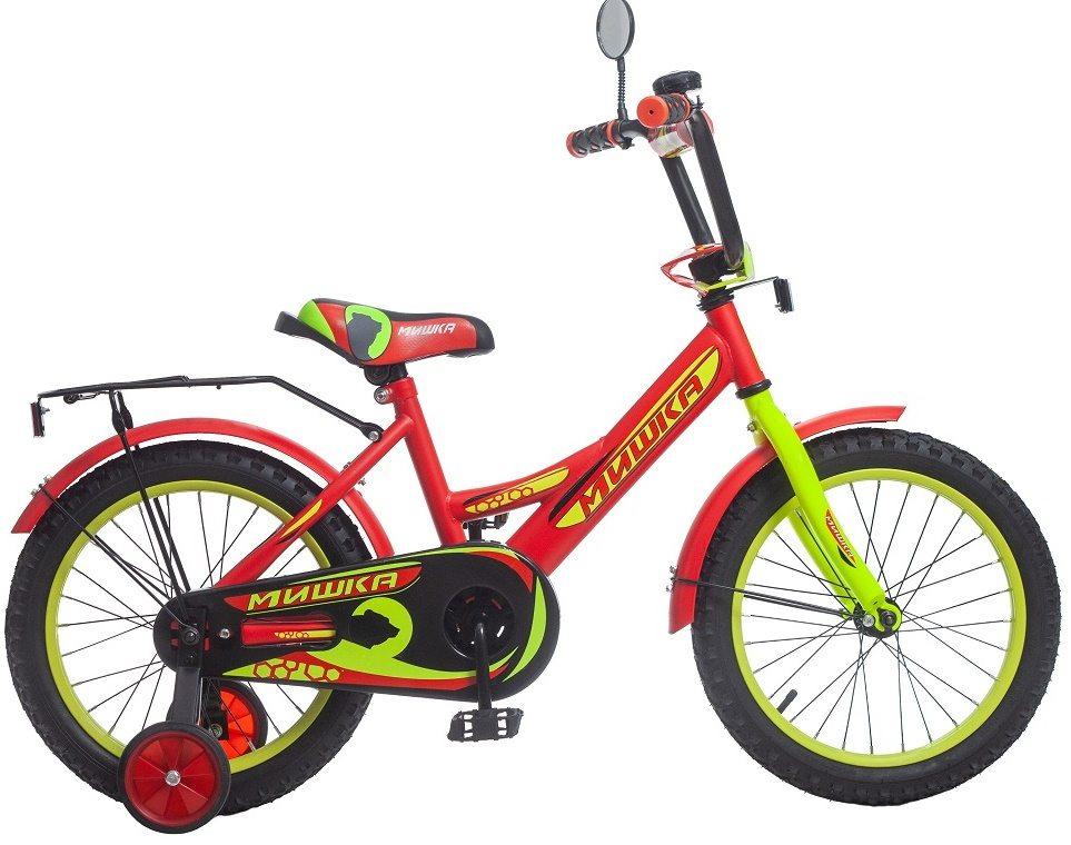 """Велосипед 16"""" Мишка"""