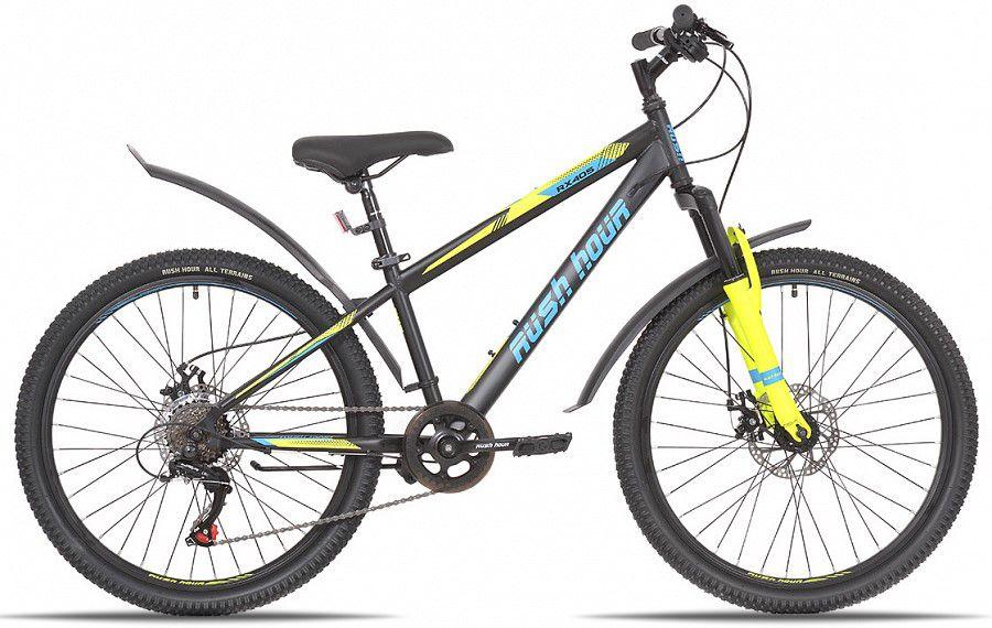 "Велосипед 24"" 6ск RUSH HOUR RX 405 DISC ST"