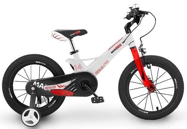 """Детский 2- колесный велосипед Maxiscoo Space Стандарт, 14"""" (2020)"""