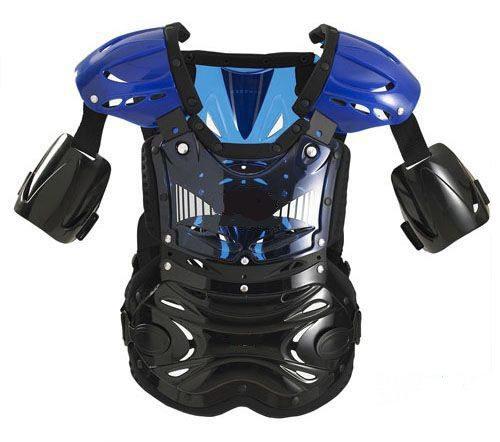 Защита тела для мотокросса NM-601 чёрн.,син.,красн. (стандарт)