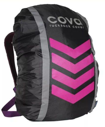 Чехол на рюкзак со световозвращающими лентами, объем 20-40 литров НЕОН