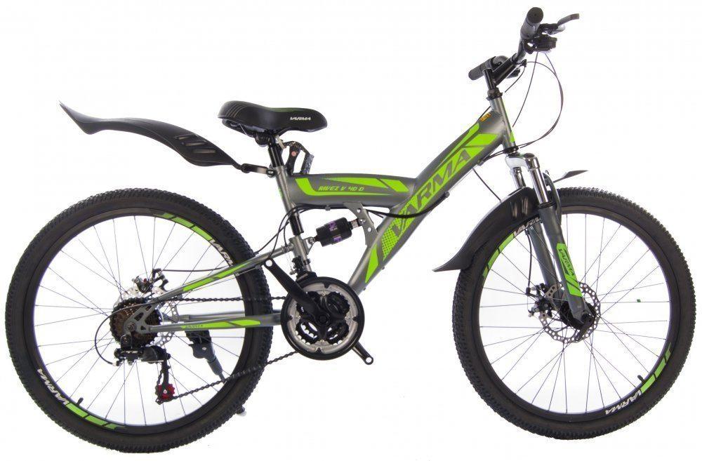 """Подростковый велосипед 24"""" VARMA RIVEZ V40D 21 ск. ст."""