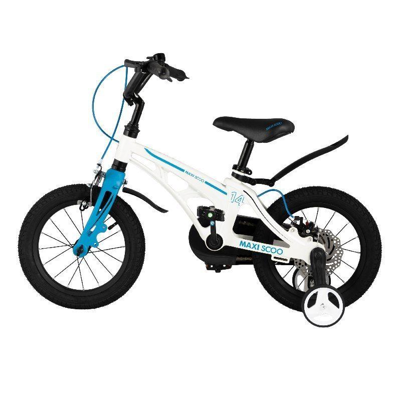 """Детский 2- колесный велосипед Maxiscoo Cosmic Стандарт 14"""" (2021)"""