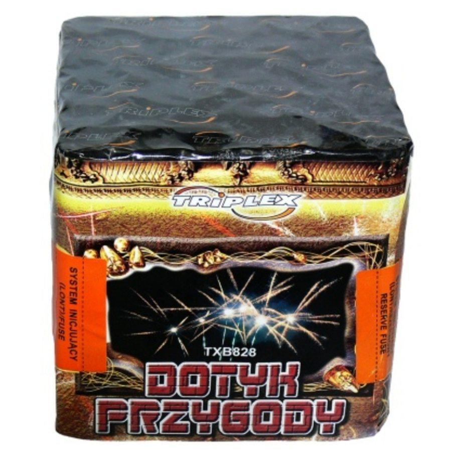 """36 зар. Батарея салютов """"DOTYK PRZYGODY"""" ТХВ828 (12/1) 0,8"""""""